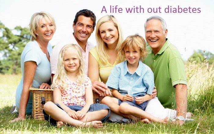 happy family diabetes free